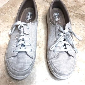 Keds Beige Sneakers. Size 9